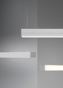InLine nutzt die LED-Technik auf neue Weise, erlaubt diffuses Allgemein-, homogenes indirektes der akzentuiertes Direkt-Licht und viele Beleuchtungsszenarien. Foto: BELUX AG