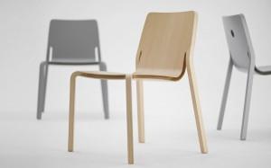 Der Stuhl spielt mit und vereint Gegensätze – und erobert nun den Markt. Foto: Oliver Schick Design