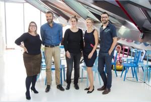 Chmara und Rosinke begeisterten damit die hochkarätige Jury mit Lilli Hollein, Robert Stadler, Hanna Krüger, Cornelia Kenndler und Thomas Geisler. Foto: © Nespresso