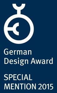 """Das elegant-moderne Designmöbel erhält die Auszeichnung """"Special Mention"""". Foto: Rossin srl - GmbH"""