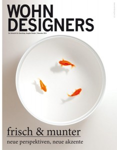 WOHNDESIGNERS - Cover Ausgabe 10/11 2014. Foto: WOHNDESIGNERS
