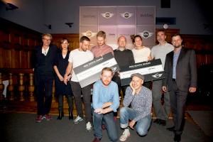 Die MINI Designpreisträger wurden gewählt und freuten sich sichtlich. Foto: © blickfang
