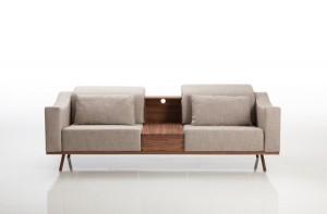 Das Sofa deep space von brühl ist für den Bundespreis ecodesign nominiert. Foto: brühl