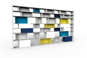 STACK gibt es in allen RAL-Farben und in trendigen Farb-Kombinationen. Foto: müller möbelfabrikation