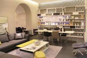 Der B&B Italia Monobrand Store ist übersiedelt und zeigt am Franz-Josefs-Kai 43 in 1010 Wien noch mehr Designmöbel. © B&B Italia