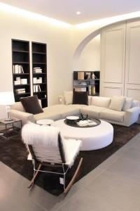 Wohnwelten: Die Produkte werden perfekt inszeniert. © B&B Italia