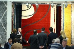 Von Parkett bis Teppich wird auf der DOMOTEX alles gezeigt. Foto: Deutsche Messe