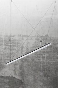 """Mit """"Wohn- Lichtwerkzeug"""" brechen Lisa Maria Wandel und Franziska Zeller bekannte Leuchttypen auf. Kurz: Eine multifunktionale Wohnleuchte. © Kunsthochschule Halle"""