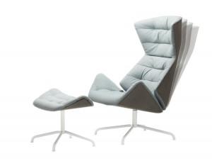 Der neue Lounge-Sessel 808 von Thonet. © Thonet/Constantin Meyer
