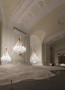 Die außergewöhnliche Installation lädt zu einer etwas anderen Entdeckungstour. Foto: Vasku & Klug/ Preciosa Lighting