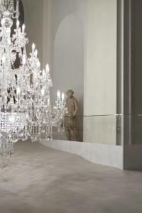 """Installation """"Hinter verschlossenen Türen"""" von Vasku & Klug und Preciosa. Foto: Vasku & Klug/ Preciosa Lighting"""