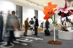 34 junge Designer aus aller Welt nehmen in den beiden Talents-Arealen Aufstellung. © Messe Frankfurt Exhibition GmbH / Pietro Sutera
