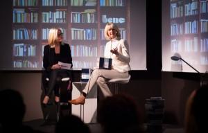 Glück, Erfolg & Büro: Das Podiumsgespräch mit Sigrid Mayer und Dorette Segschneider lieferte Impulse. ©Bene AG/Andrea Hirsch