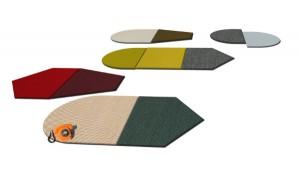 """Die neue Vorwerk-Kollektion """"Elements"""" von Werner Aisslinger kommt mit frischen Farben und neuen Formen daher. © Vorwerk"""