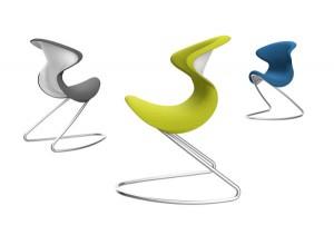 oyo von aeris punktet mit seinem Design by Martin Ballendat und bewegendem Sitzkomfort. © aeris