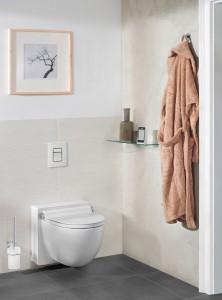 Komfortabel & hygienisch: Das Dusch-WC GROHE Sensia® IGS. © Grohe