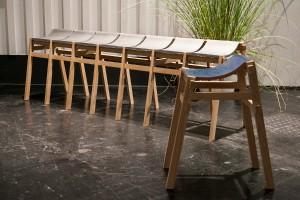 Im Rampenlicht: Die Prototypen werden im Bereich garden unique präsentiert. Im Bild: Kawara Bench, Designer: Tsuyoshi Hayashi (3. Platz beim contest 2014). © Koelnmesse