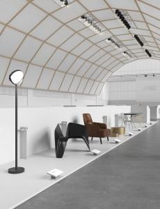 Klare Struktur, straighter Look, viel Weiß – das Ausstellungskonzept von Vasku&Klug. © Vasku&Klug