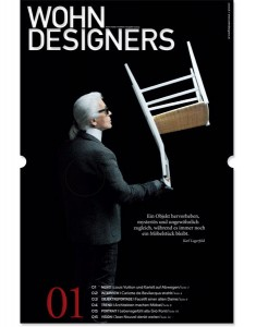 WOHNDESIGNERS - Form | Farbe | Funktion. Ausgabe 1/2013. Cover. © WOHNDESIGNERS