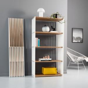 130 Designer sind mit ihren Produkten dabei und vor Ort, u.a. Joval mit dem Regalsystem REBAR. © blickfang