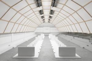 """Im Spotlight: Die Österreichische Möbelindustrie zeigt in Mailand auf - bei der Ausstellung """"AUSTRIAN DESIGN PIONEERS"""", konzipiert von Vasku & Klug. © AUSSENWIRTSCHAFT AUSTRIA"""