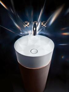 Präzision in Perfektion: Dank neuartigem Material TitanCeram konnte Kai Steffan das einzigartige Design kreieren. © Villeroy & Boch