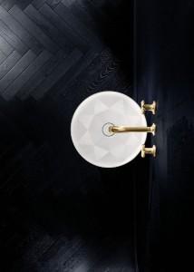 Lässiger Look: Durch exakteste Kanten und Winkel wird im Beckeninneren ein Achteck geformt - special effect inklusive. © Villeroy & Boch