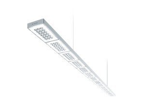 """SEQUENCE"". Direkt-Indirekt-Pendelleuchte. iF DESIGN AWARD 2015, Disziplin ""Products"", Kategorie ""Lighting"". Design: Zumtobel Lighting GmbH. Hersteller / Auftraggeber: Zumtobel Lighting GmbH. © Zumtobel"