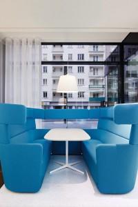 Etwas anderer Büro-Hotspot: Das PARCS American Diner. © Bene AG