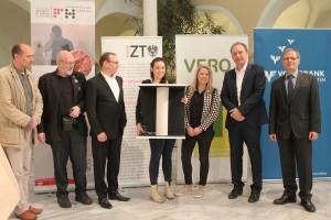"""Der Anerkennungspreis wurde an das Projekt 036 – """"Wickerwork"""" von Katharina Seiter und Jennifer Fuchs vergeben. © FH Kärnten"""