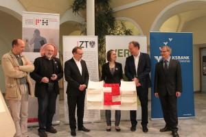 """Mit dem Projekt 056 – """"SOUNDpaneel"""" gewann Regina Rasser einen der Hauptpreise. © FH Kärnten"""