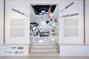Die Ausstellung AUSTRIAN DESIGN EXPLOSION in Mailand ist eröffnet. © Laura Fantacuzzi & Maxime Galati Fourcade