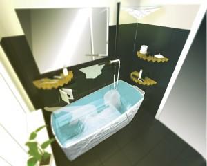 """Siegreich: Das Bad """"POPUP"""" von Jenny Gebler, Marian Massegg und Clara Fessler wurde für Menschen, die auf kleinstem Raum leben, und deren Bedürfnisse konzipiert. © iF"""