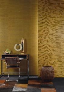 """Neben dem exotischen Look punkten die """"Jungle""""-Tapeten mit extravaganter Haptik. © Omexco"""