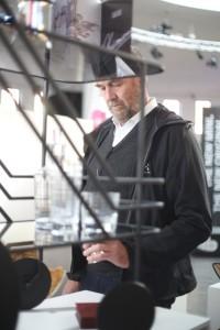 Die blickfang ist für Moormann bekanntes Terrain, u.a. besuchte er zuletzt die Designmesse in München. © blickfang