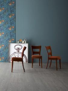 """Mit fließenden, weichen Formen macht der Stuhl """"Sheryl"""" beste Figur. © Bonaldo S.p.A."""