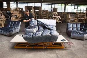 Bestens verarbeitet, verzaubern die Polstermöbelkreationen mit Look, Qualität und Komfort. © Bretz