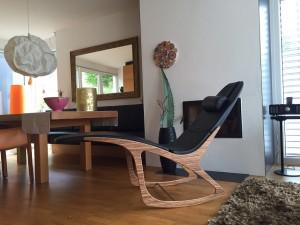 Mit wenigen Handgriffen verwandelt sich das Möbel zum entspannenden Lounger. © mySensation