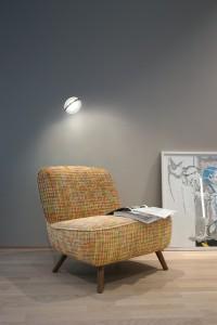 Die RIM R 36 Wall macht auch als Leseleuchte gute Figur. © Janis Rozkalns