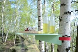 Für outdoor gedacht und gemacht: Die Kreation von Nina Ruthe-Klein und David Antonin, alias Niruk. © blickfang/Niruk