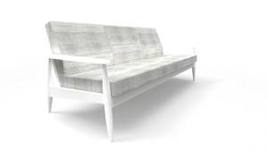 Gelungene Kombi: Die BuzziSpace-Möbel werden mit Kvadrat-Stoffen bezogen. © BuzziSpace/Kvadrat