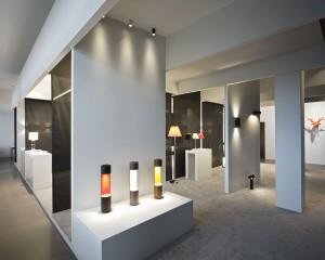 Im Spotlight stehen hier die neuesten Lichtlösungen des belgischen Licht-Spezialisten. © Modular Lighting Instruments