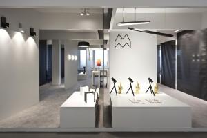 Modular Lighting Instruments Showroom in Zürich. © Modular Lighting Instruments