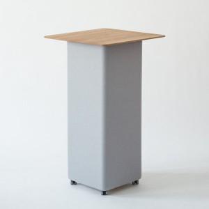 Der raffinierte, elegante Tisch punktet mit seinem Look und sorgt für optimale Akustik. © Peter Philipp