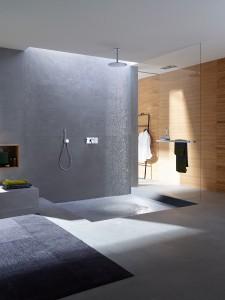 Intuitiv bedienbar, fügt sich die Neuheit in jedes Badezimmer-Ambiente ein. © Axor