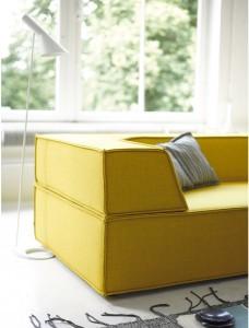 Zeitgemäß in Look und Feel, lassen sich aus nur drei Grundelementen verschiedenste Sitzoasen gestalten. © COR