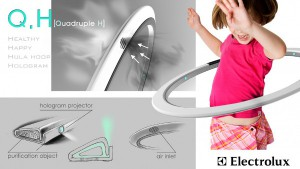 Q.H[Quadruple H]. Konzept von Jeongbeen Seo. © Electrolux/Electrolux Design Lab