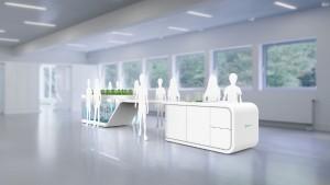 Die Finalisten des Electrolux Design Lab 2015 stehen fest. Darunter: Future Classroom, Konzept von Tobias Tsamisis. © Electrolux/Electrolux Design Lab