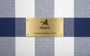 Zertifiziert: Ein von Jan Ryde, Eigentümer und Vorstandsvorsitzendem von Hästens, zeichnet das Bett aus. © Hästens