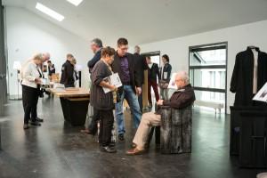 Der Tisch SOLID und Faltstuhl FUR von Schulte Design sorgte zuletzt in Berlin für Furore. © Schulte Design